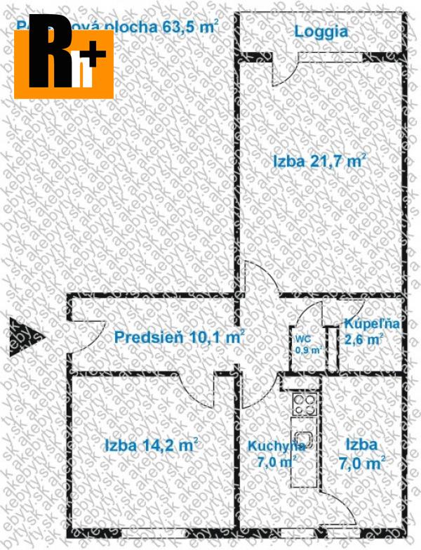 Foto 3 izbový byt na predaj Bratislava-Ružinov Narcisova - TOP ponuka