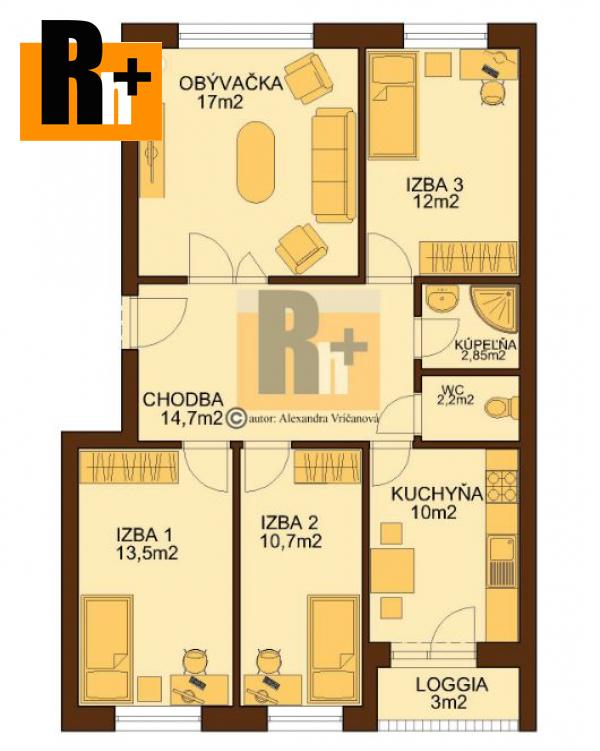 Foto Bratislava-Petržalka Vyšehradská 4 izbový byt na predaj - TOP ponuka