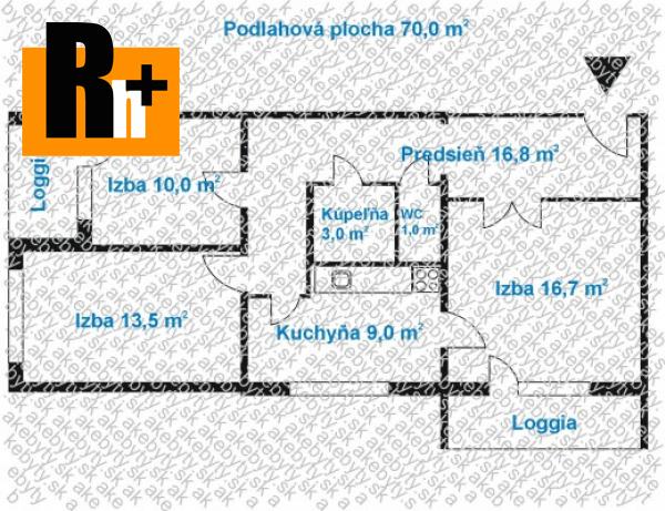 Foto Bratislava-Karlova Ves Hany Meličkovej 3 izbový byt na predaj