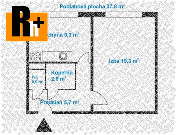 Foto Bratislava-Rača Závadská na predaj 1 izbový byt - TOP ponuka