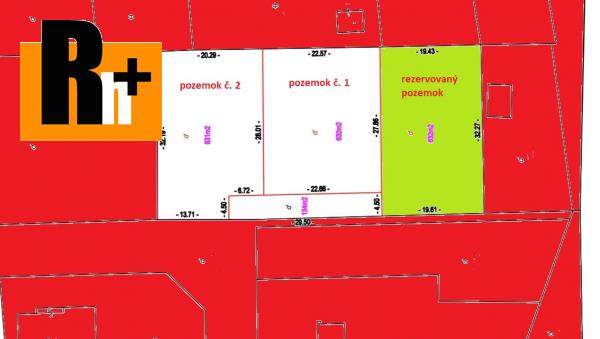 Foto Beniakovce Satelit na predaj pozemok pre bývanie - znížená cena