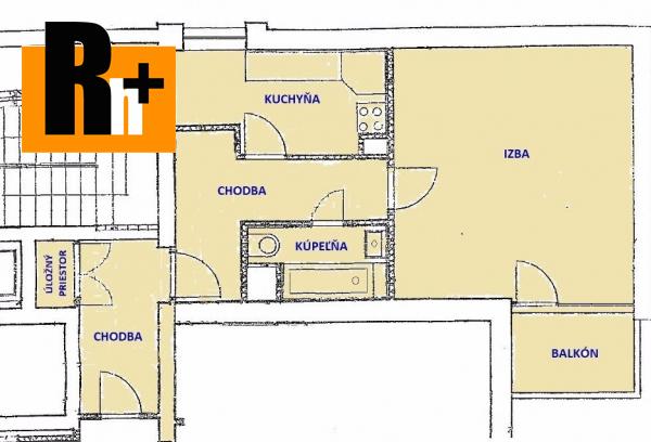 Foto 1 izbový byt Bratislava-Staré Mesto Slávičie údolie, Svetlá ulica na predaj - 56m2