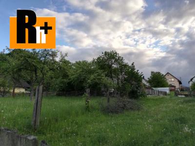 Na predaj pozemok pre bývanie Hôrka Kišovce - exkluzívne v Rh+