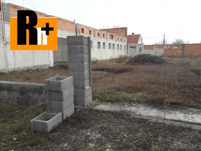 Priemyselný areál Galanta Puškinova na predaj 2
