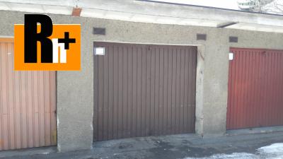 Na predaj garáž hromadná Žilina 18m2 - exkluzívne v Rh+