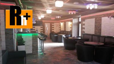 Reštaurácia Poprad Velické námestie na predaj - exkluzívne v Rh+
