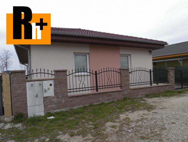 Foto Na predaj rodinný dom Čenkovce Čorge - exkluzívne v Rh+