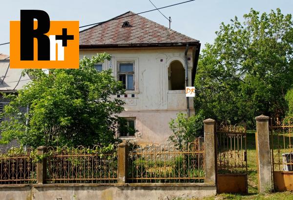 Foto Nižná Hutka Hlavná vidiecky dom na predaj