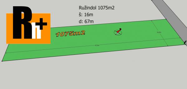 Foto Pozemok pre bývanie Ružindol na predaj - 1075m2