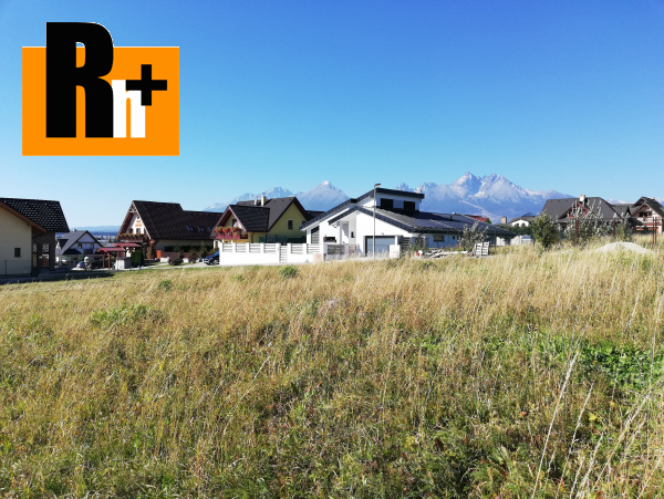Foto Pozemok pre bývanie na predaj Vysoké Tatry Veľká Lomnica