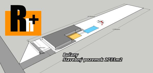Foto Pozemok pre bývanie na predaj Bučany