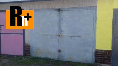 Čierna nad Tisou školská garáž jednotlivá na predaj - tehlová stavba