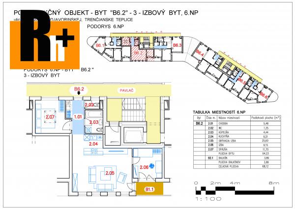 Foto Na predaj 3 izbový byt Trenčianske Teplice SNP - TOP ponuka