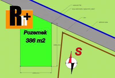 Na prodej pozemek pro bydlení Petřvald Na Zaryjích - 386m2