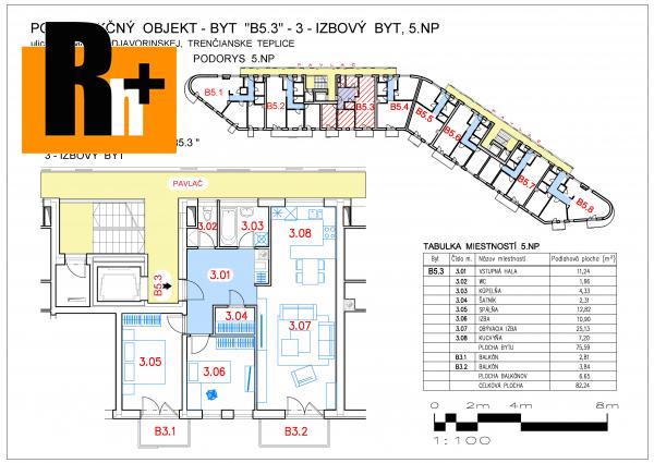 Foto 3 izbový byt Trenčianske Teplice SNP na predaj - novostavba