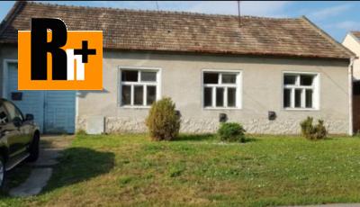 Na predaj Špačince Špačince rodinný dom -
