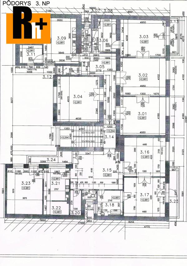 3. obrázok Administratívna budova Trenčín širšie centrum na predaj -