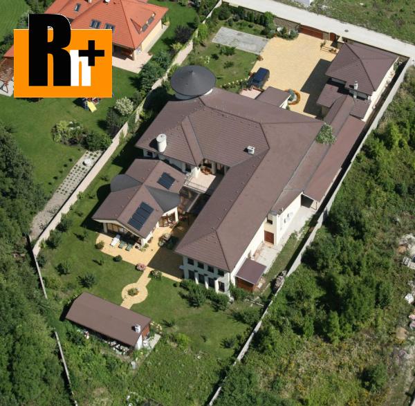 Foto Na predaj rodinná vila Limbach Mlynské Pole - TOP ponuka