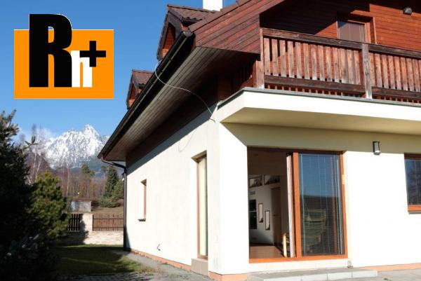 Foto Na predaj Vysoké Tatry Horný Slavkov rodinný dom - rezervované