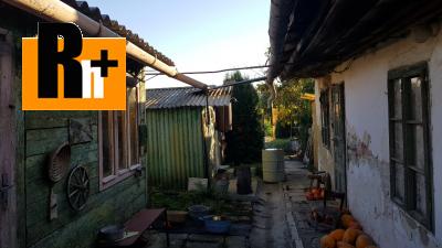 Rodinný dom Vlčkovce na predaj - ihneď k dispozícii 10