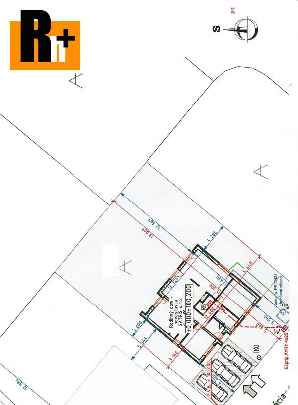 Foto Hrubá Borša - na predaj pozemok pre bývanie - so stavebným povolením