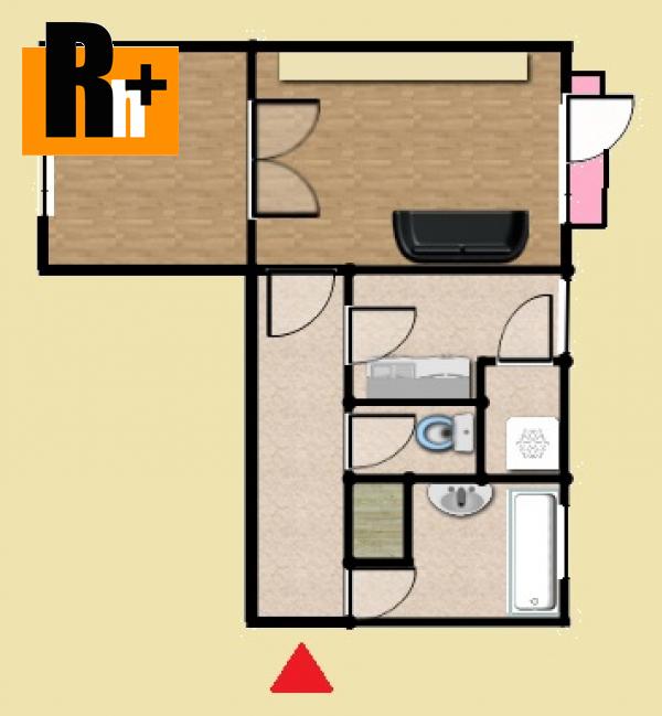 Foto Na predaj Trenčín Dlhé Hony 2 izbový byt - rezervované
