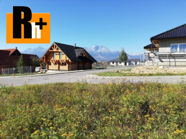 Foto Veľká Lomnica na predaj pozemok pre bývanie