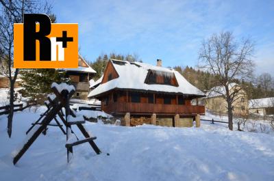 Na predaj chata Lutiše s veľkým pozemkom - exkluzívne v Rh+