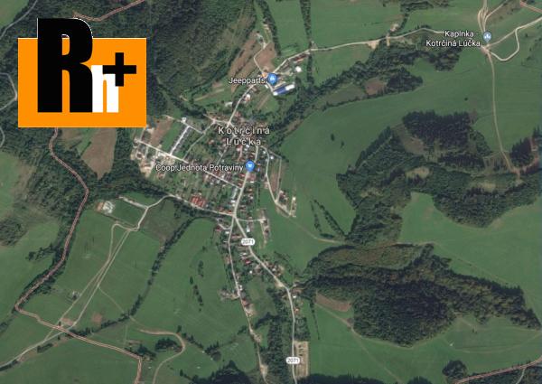 Foto Na predaj Kotrčiná Lúčka pozemok pre bývanie - znížená cena