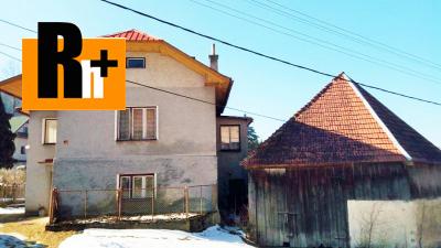 Čremošné na predaj vidiecky dom