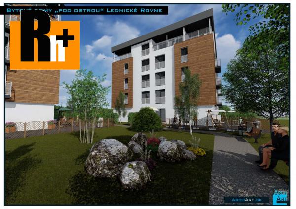 Foto Považská Bystrica Lednické Rovne s balkónom 3 izbový byt na predaj - exkluzívne v Rh+