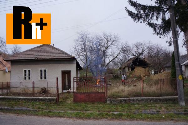 Foto Horné Štitáre Horné Štitáre na predaj rodinný dom - tehlová stavba