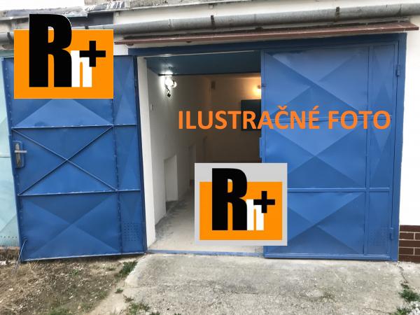 Foto Na predaj Dubnica nad Váhom garáž jednotlivá - TOP ponuka