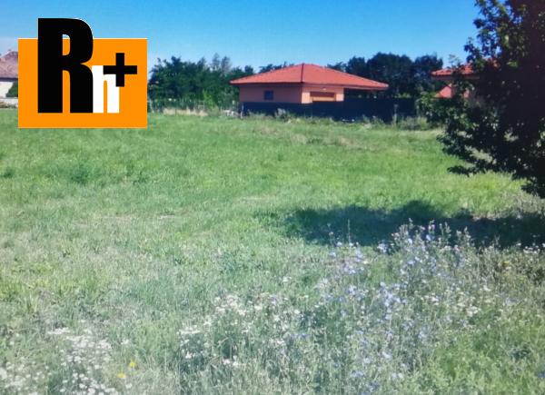 Foto Miloslavov pozemok pre bývanie na predaj - TOP ponuka