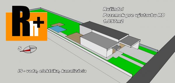 Foto Pozemok pre bývanie na predaj Ružindol