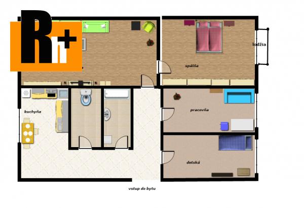 Foto 4 izbový byt Trenčín Juh na predaj - zrekonštruovaný