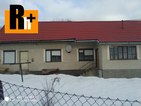 Foto Brieštie na predaj rodinný dom - TOP ponuka