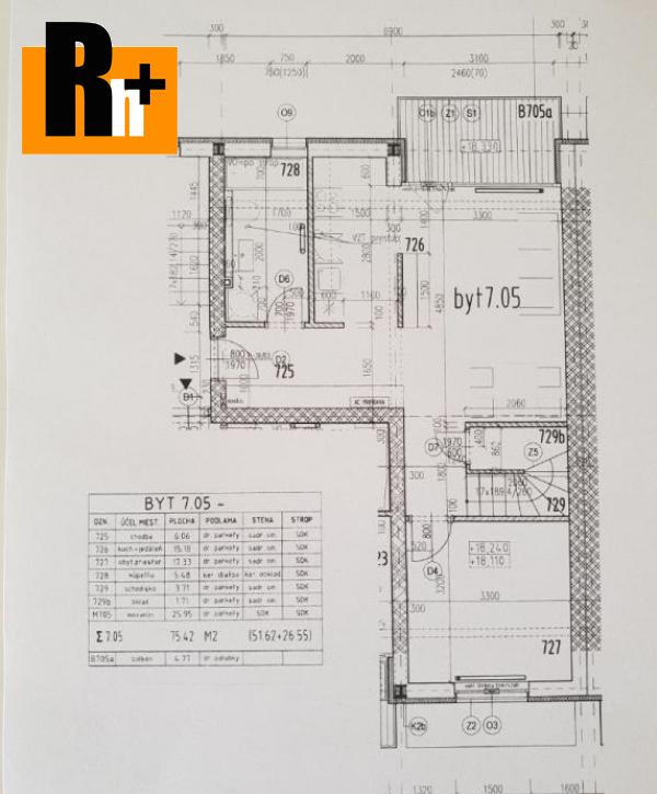 5. obrázok Bratislava-Nové Mesto Kyjevská 3 izbový byt na predaj - TOP ponuka