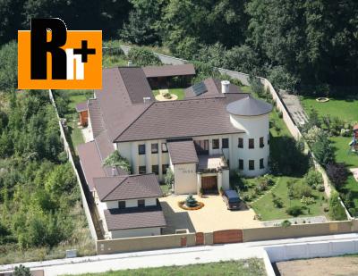 Rodinná vila na predaj Limbach Mlynské Pole - TOP ponuka