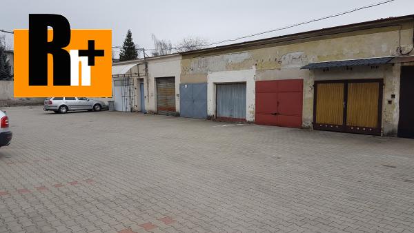 Foto Na predaj garáž jednotlivá Martin Podháj - TOP ponuka