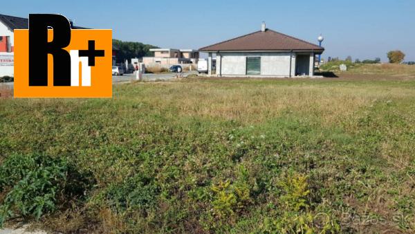 Foto Na predaj Voderady pozemok pre bývanie - ihneď k dispozícii