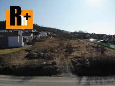 Pozemok pre bývanie Žilina Budatín 685m2 na predaj - exkluzívne v Rh+