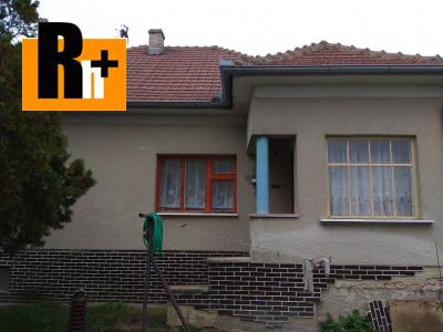 Moravské Lieskové na predaj rodinný dom - exkluzívne v Rh+ 3