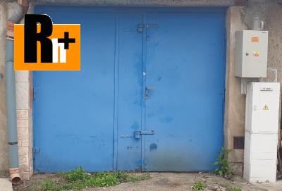 Na prodej garáž Ostrava Zábřeh U Výtopny - ihned k dispozici