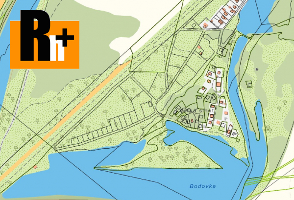 Foto Pozemok pre bývanie Krivosúd-Bodovka na predaj - 960m2