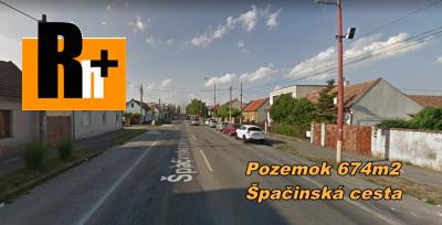 Na predaj pozemok pre bývanie Trnava Špačinská cesta - TOP ponuka