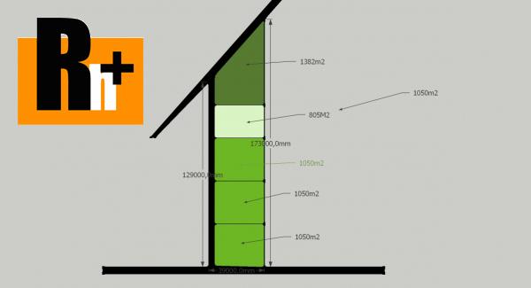 Foto Pozemok pre bývanie na predaj Dolný Hričov - exkluzívne v Rh+