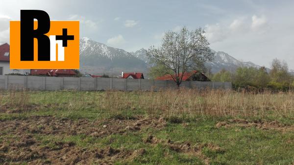 Foto Vysoké Tatry Nová Lesná pozemok pre bývanie na predaj -