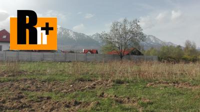 Vysoké Tatry Nová Lesná pozemok pre bývanie na predaj -