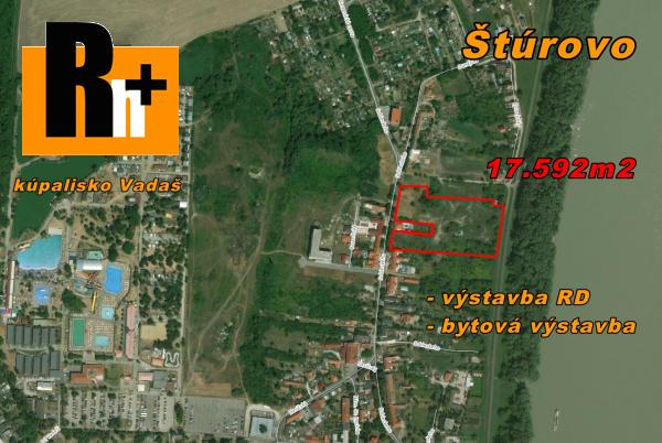Foto Štúrovo Sobieskeho pozemok pre bývanie na predaj - TOP ponuka